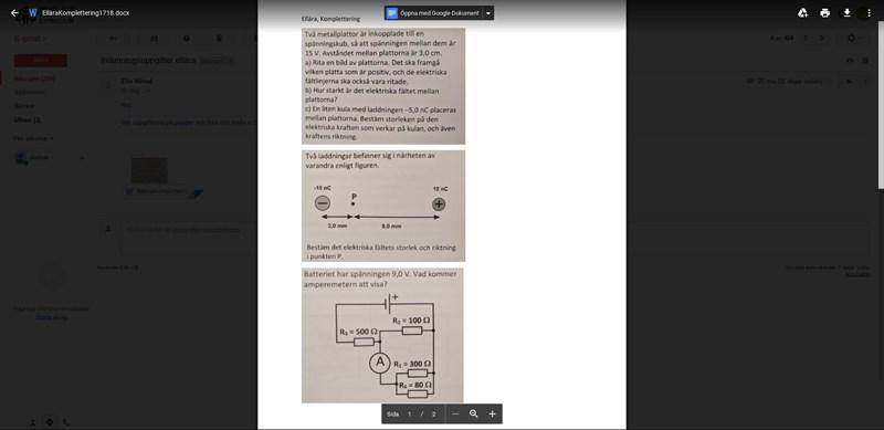Lätta Ellära Uppgifter (Natur och teknik Fysik Fysik 1) – Pluggakuten.se 11978e98b5b67
