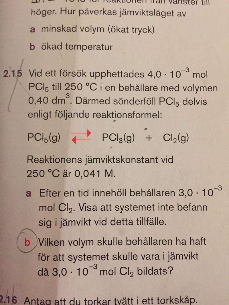 kemi 2 lösningar