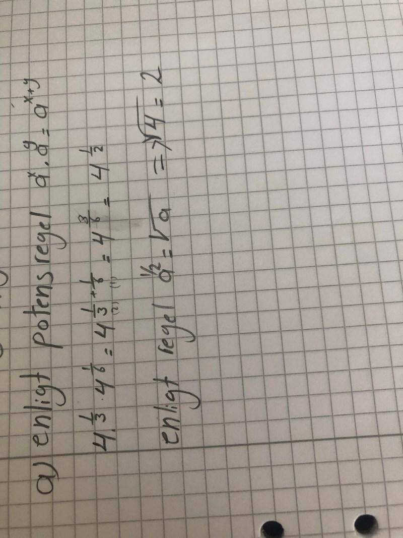 Potens är det rätt till (Matematik/Matte 2/Algebra